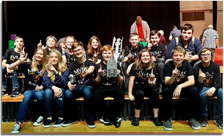 MVMS Robotics Team Champs