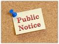 Public Notice Sign