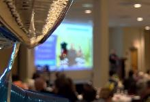 Outstanding Achievement Awards Banquet room.