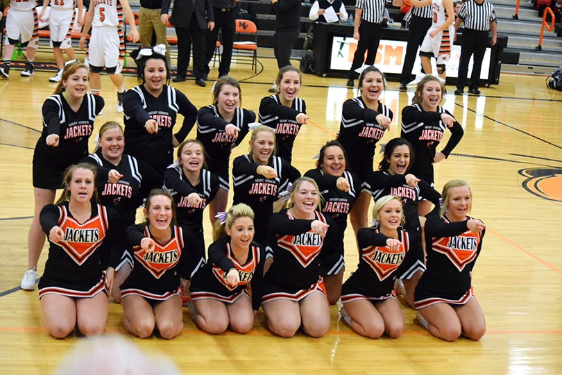 MV Basketball Cheerleaders