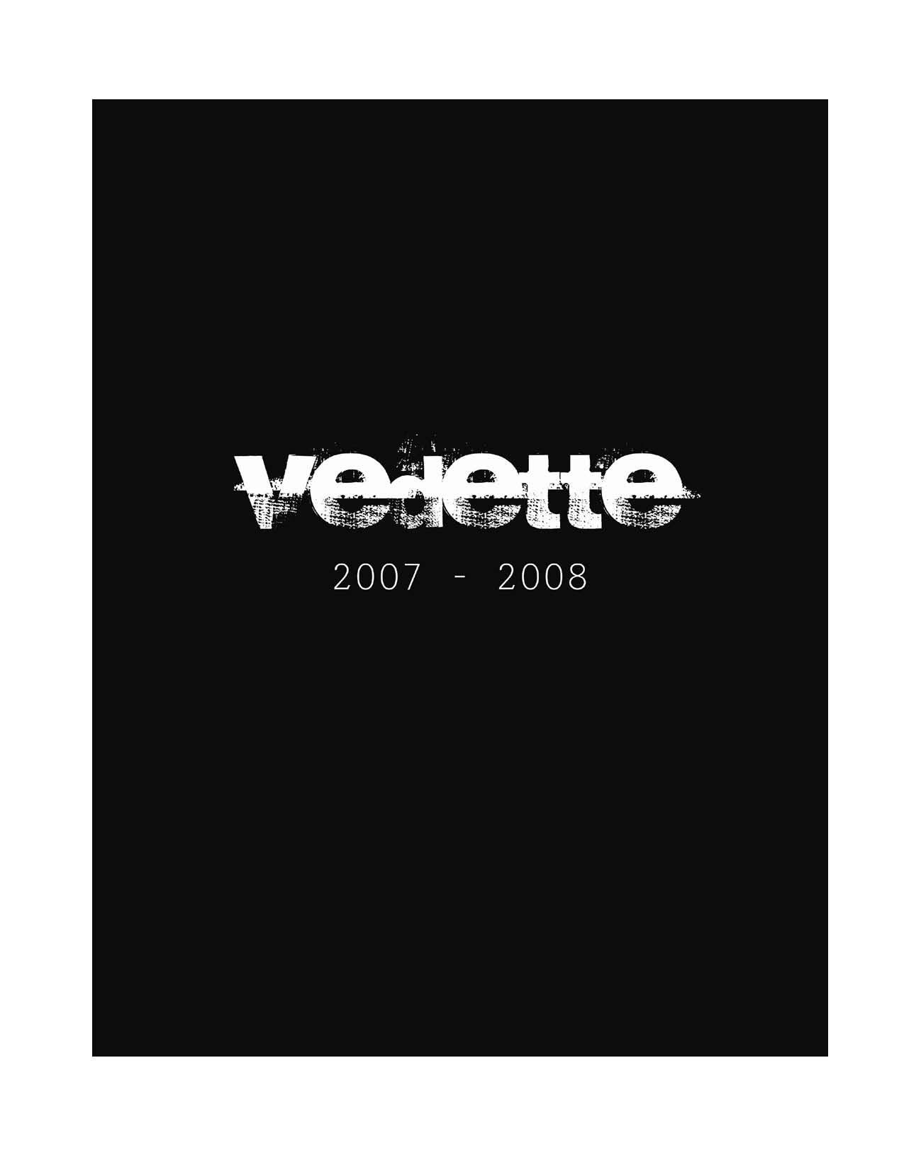 Vedette Cover 2007-2008