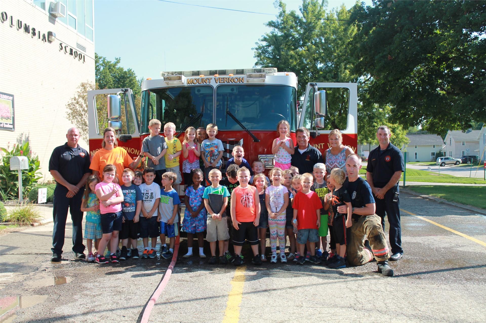 Kindergarten Fire Prevention
