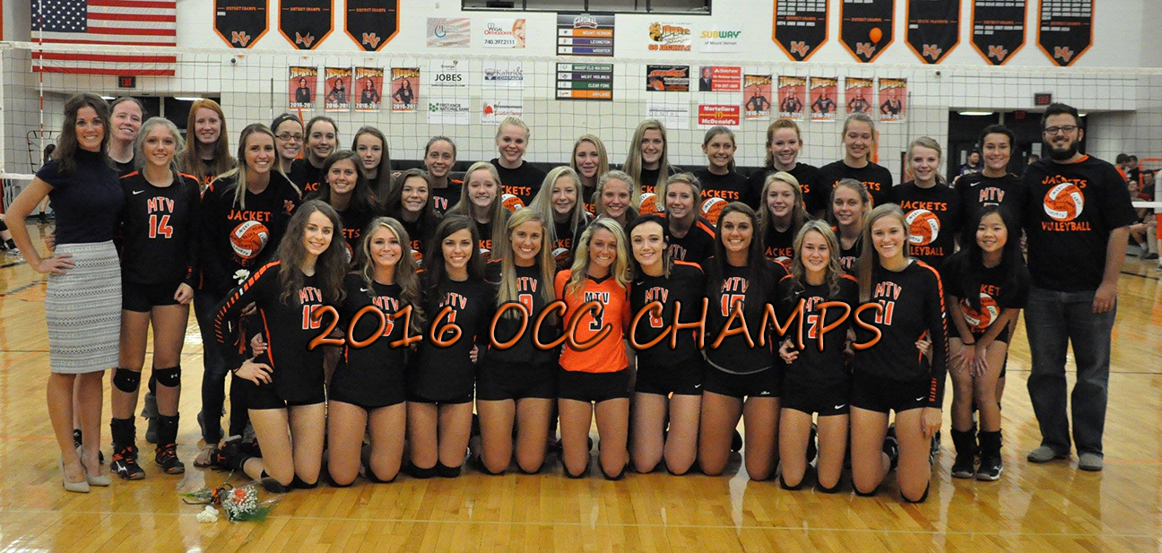 Girls Volleyball Team  2016 OCC Champions