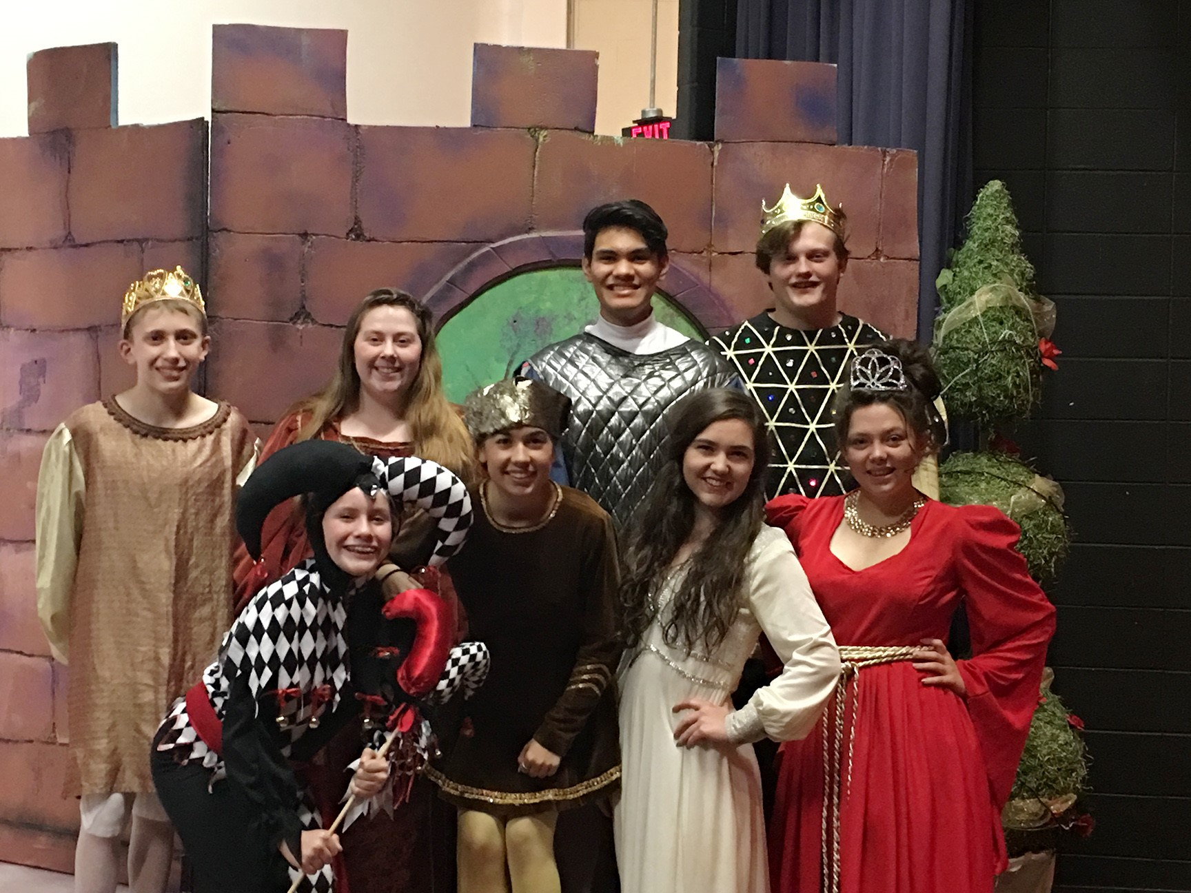 "Several Cast Members of ""Once Upon a Mattress"""