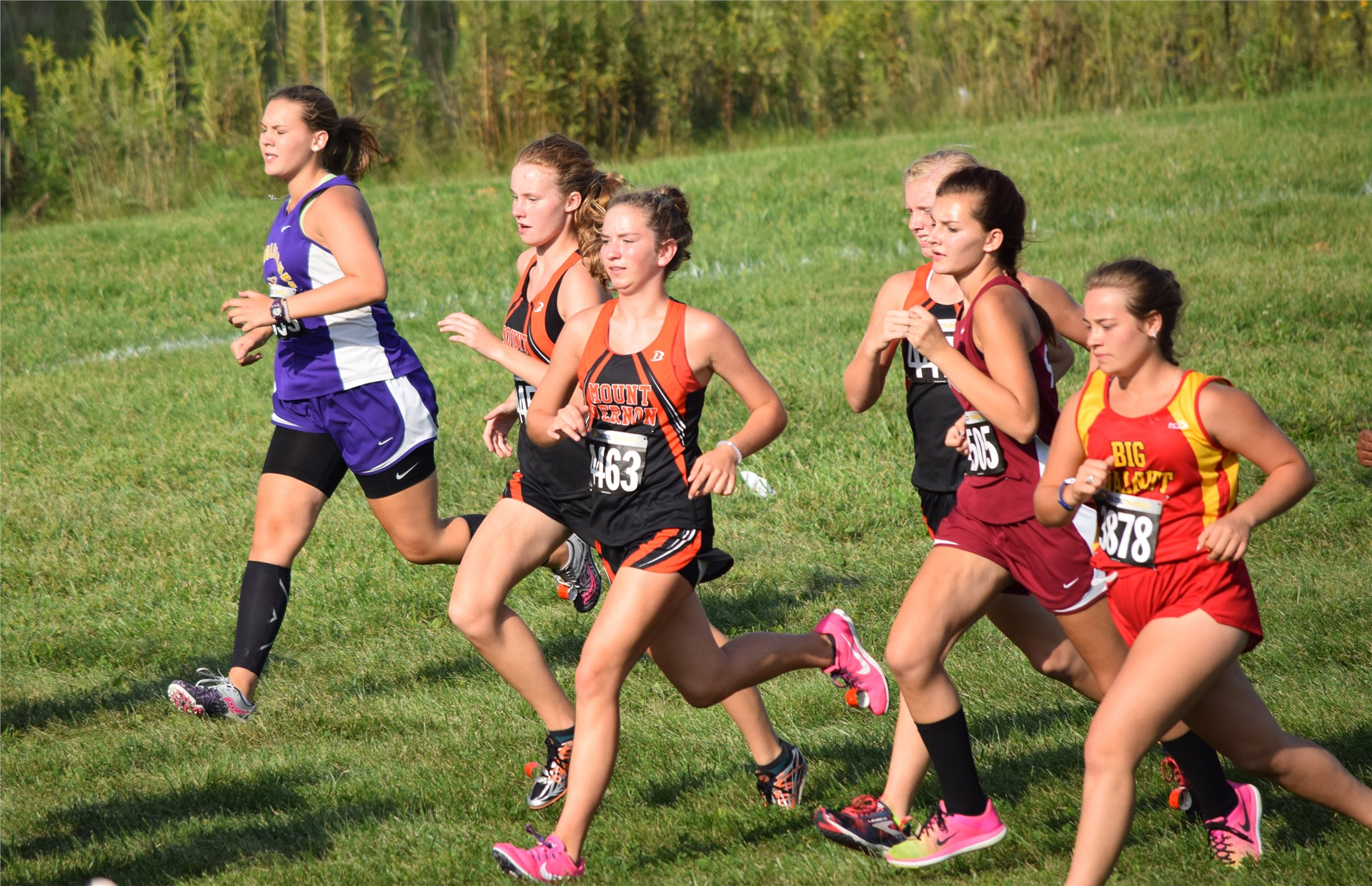 MV Girls Crosscountry Race