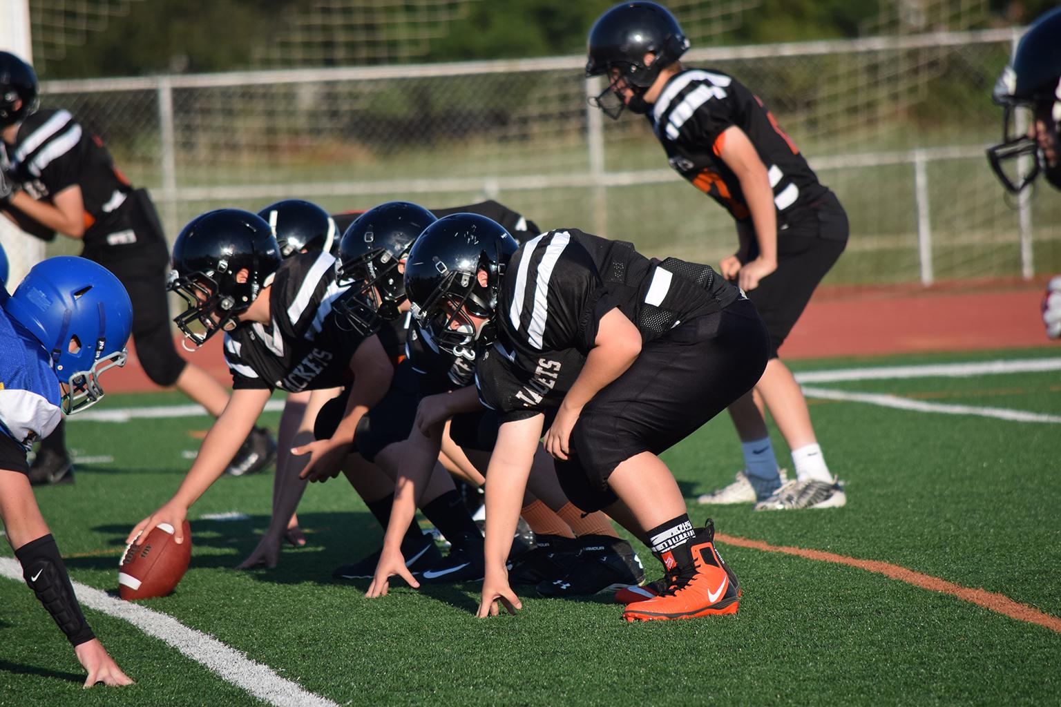 Middle School Football Line