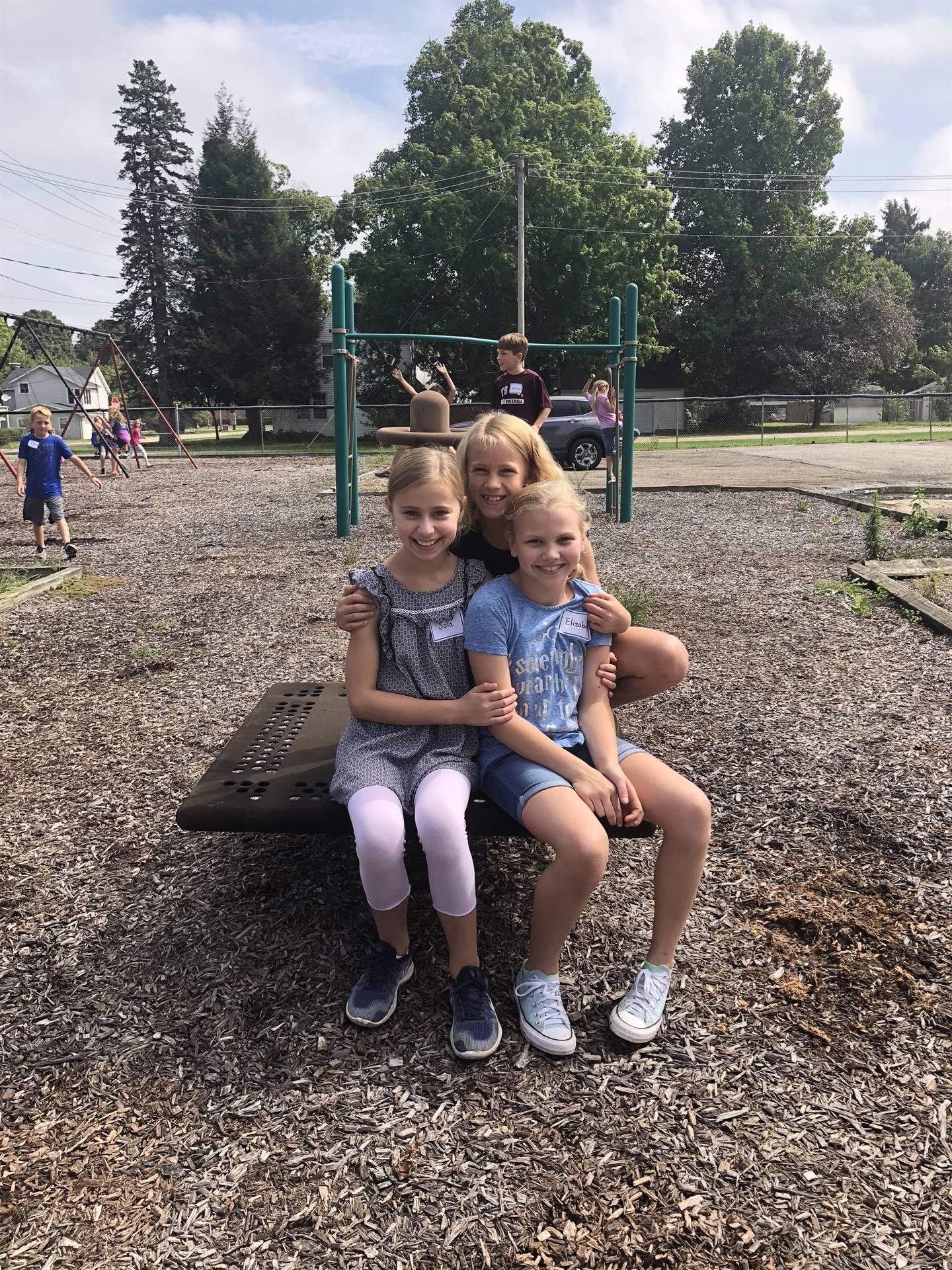 Students enjoying recess.