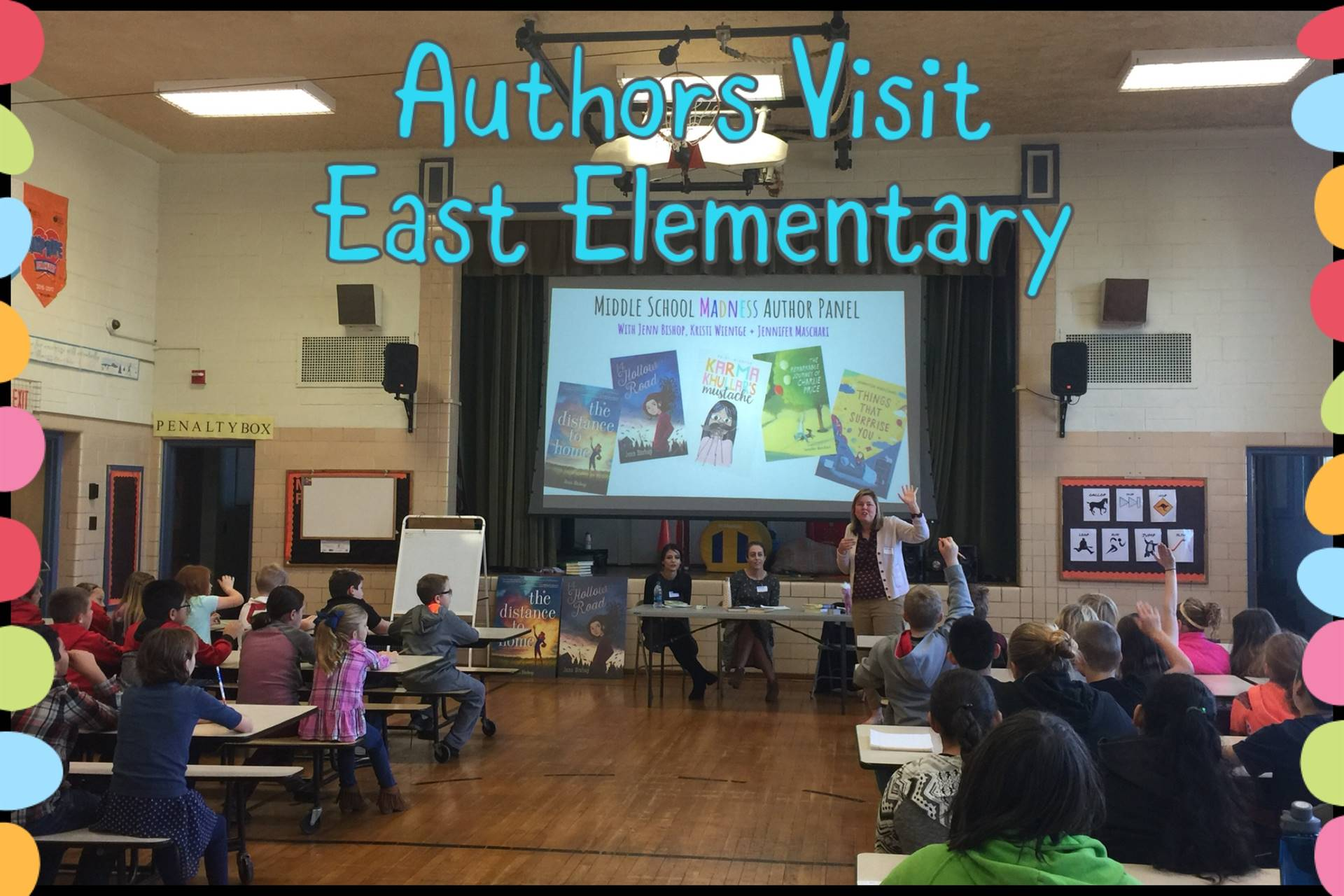 Author Visit East Elementary
