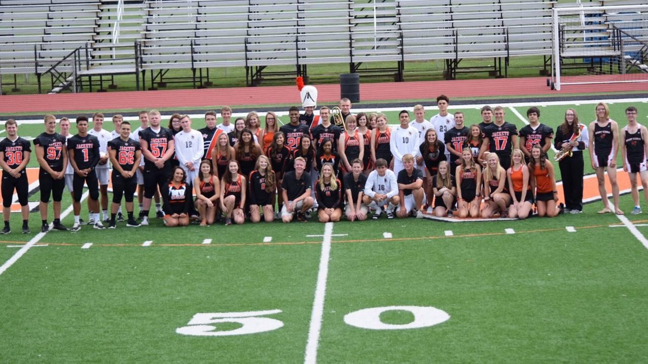 Senior Fall Athletes