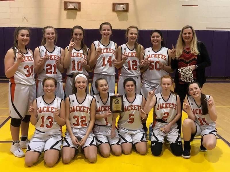 MVMS Grade 8 Girls' Basketball OCC Champions