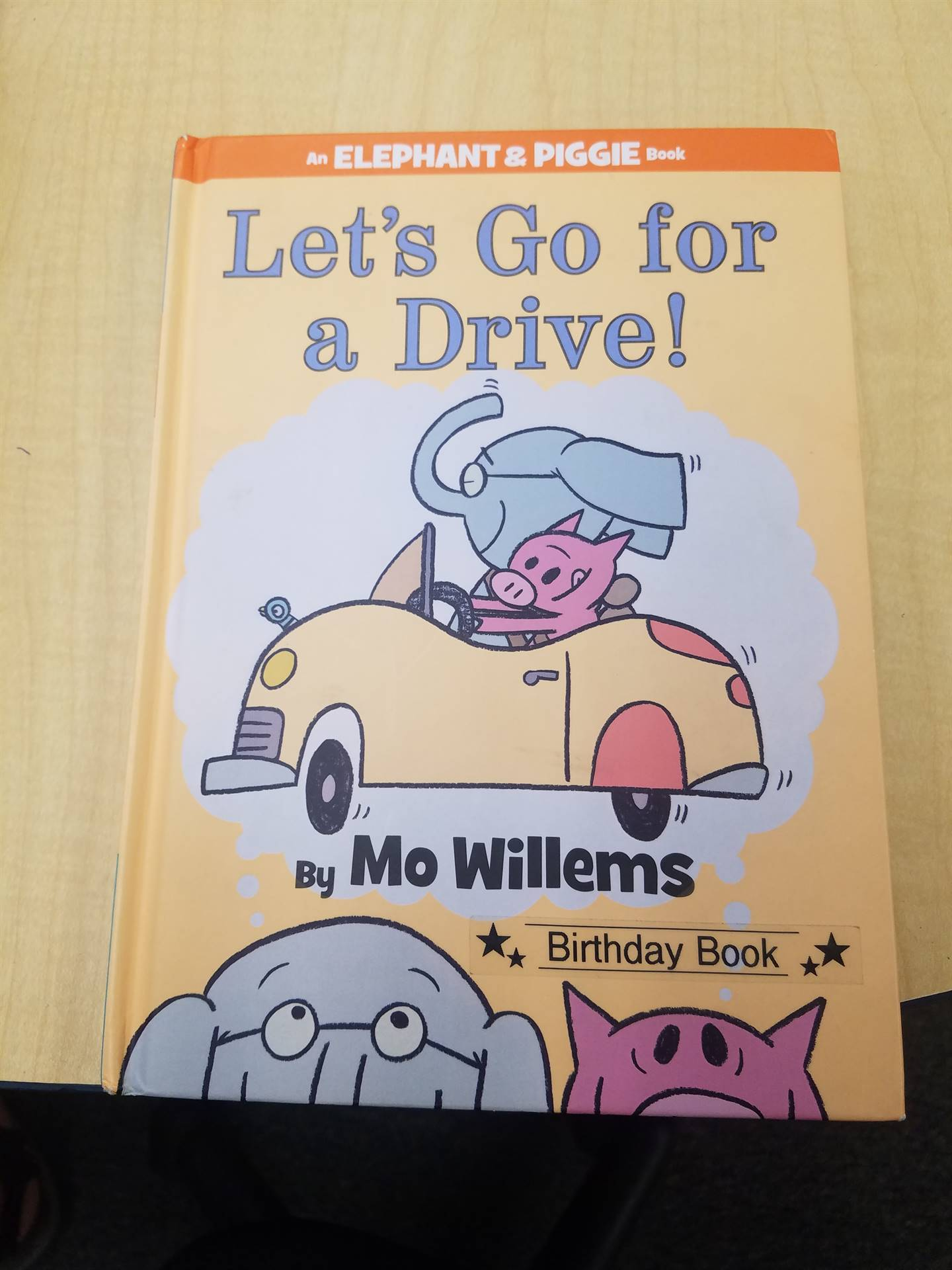 Mo Willems book