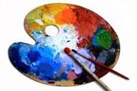 Artist's color palette