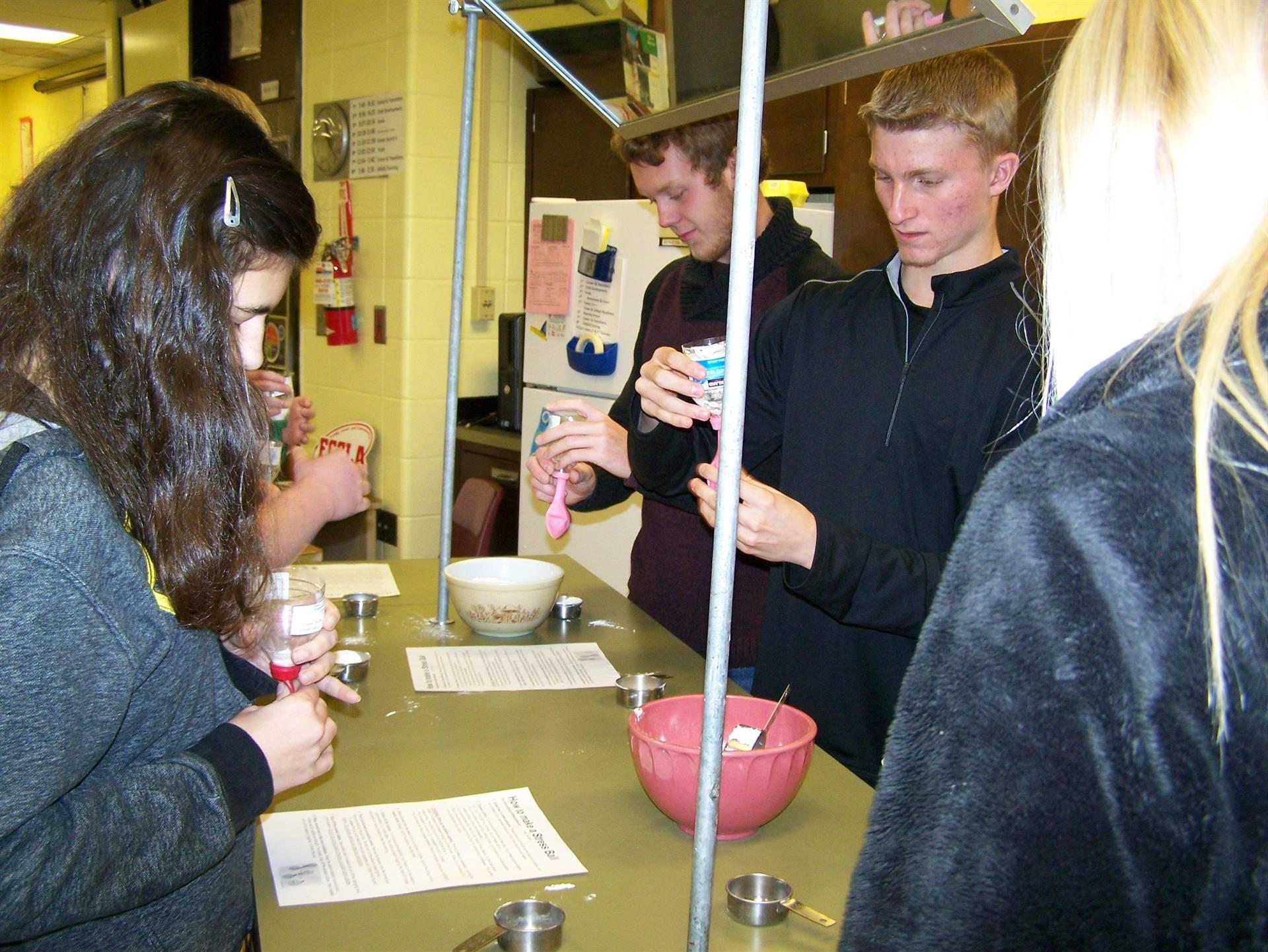 Career & College Cooking measuring