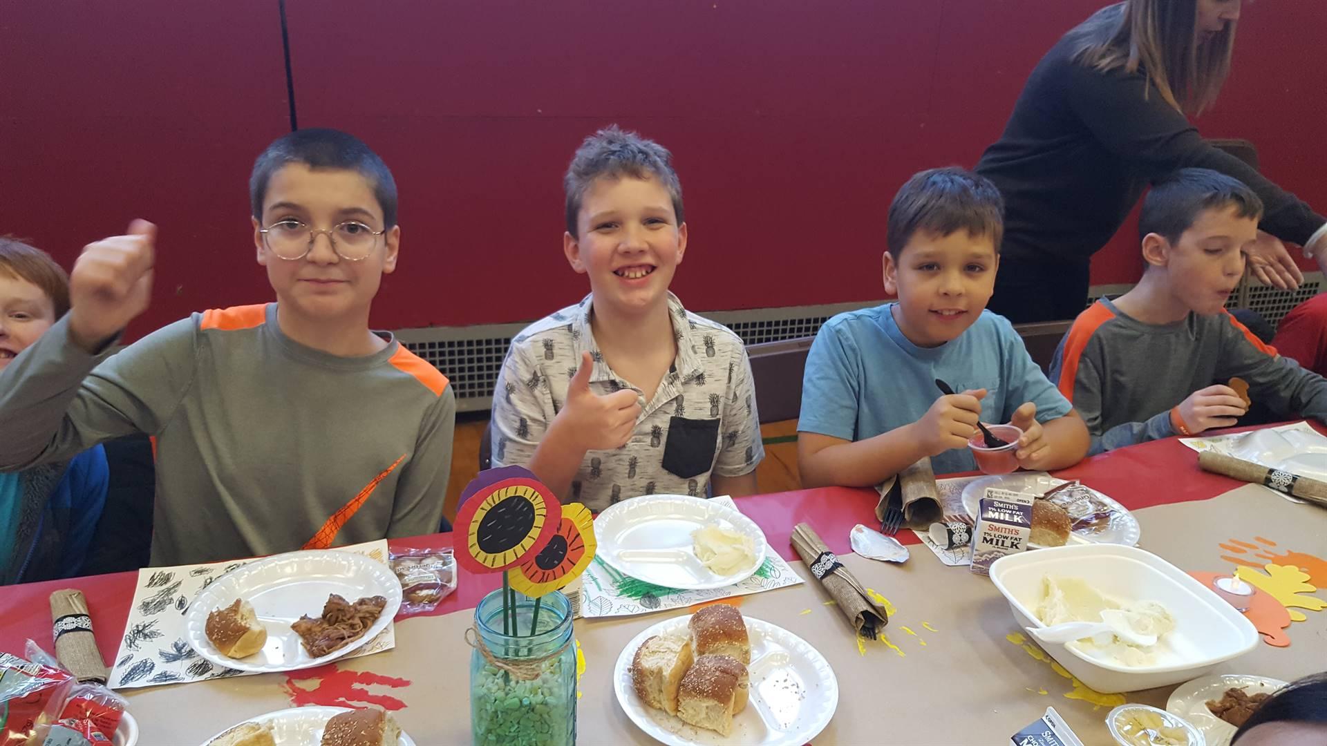Our Family Thanksgiving Dinner