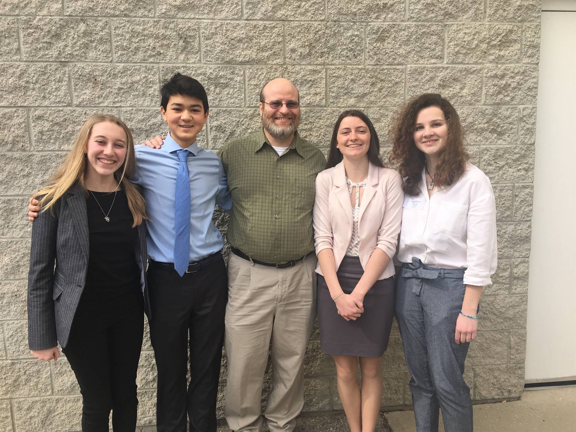 History Day 2019 students from MVHS
