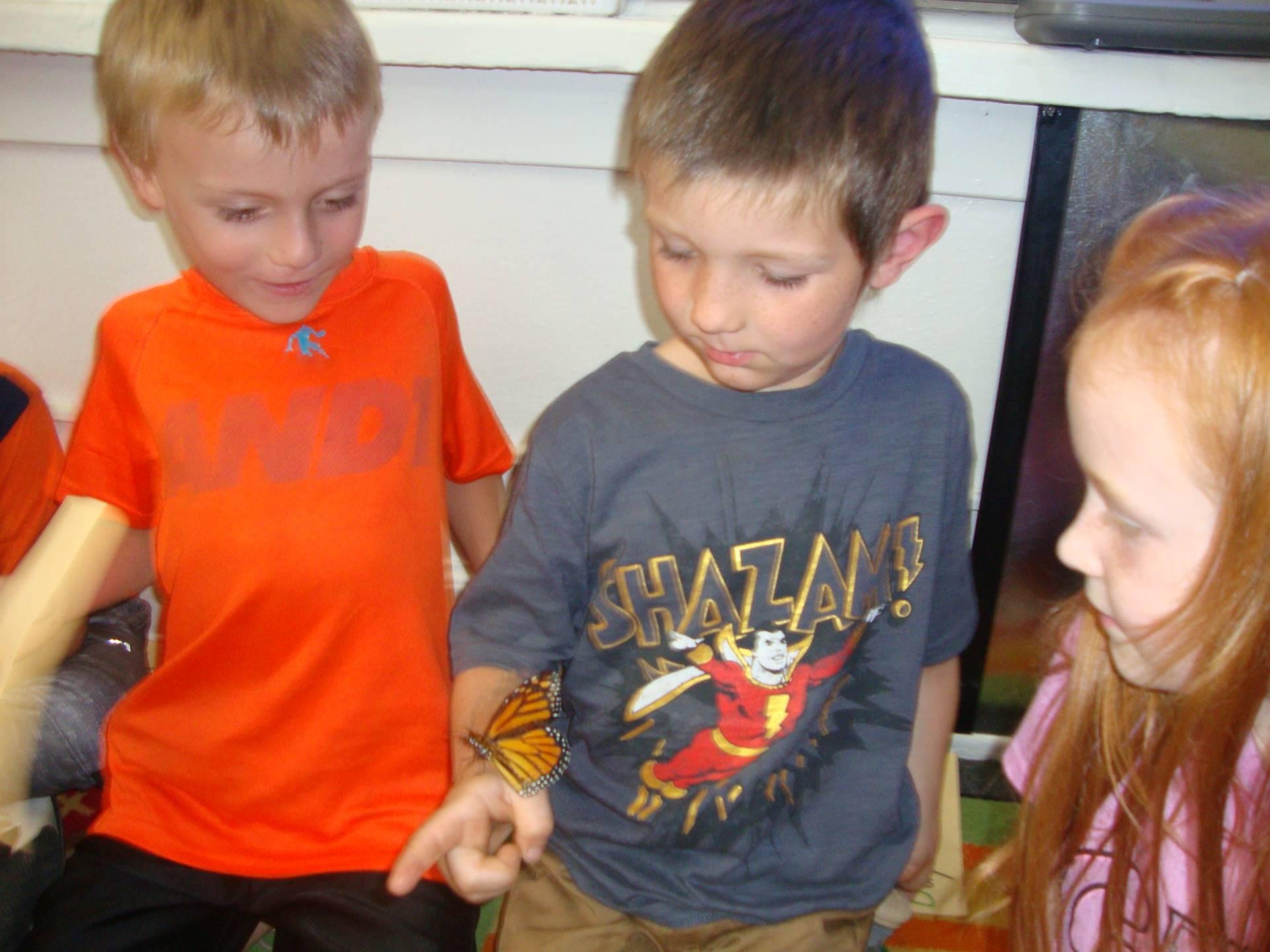children with monarch