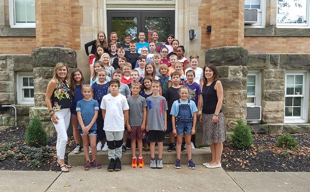 Wiggin Street 5th Grade Class