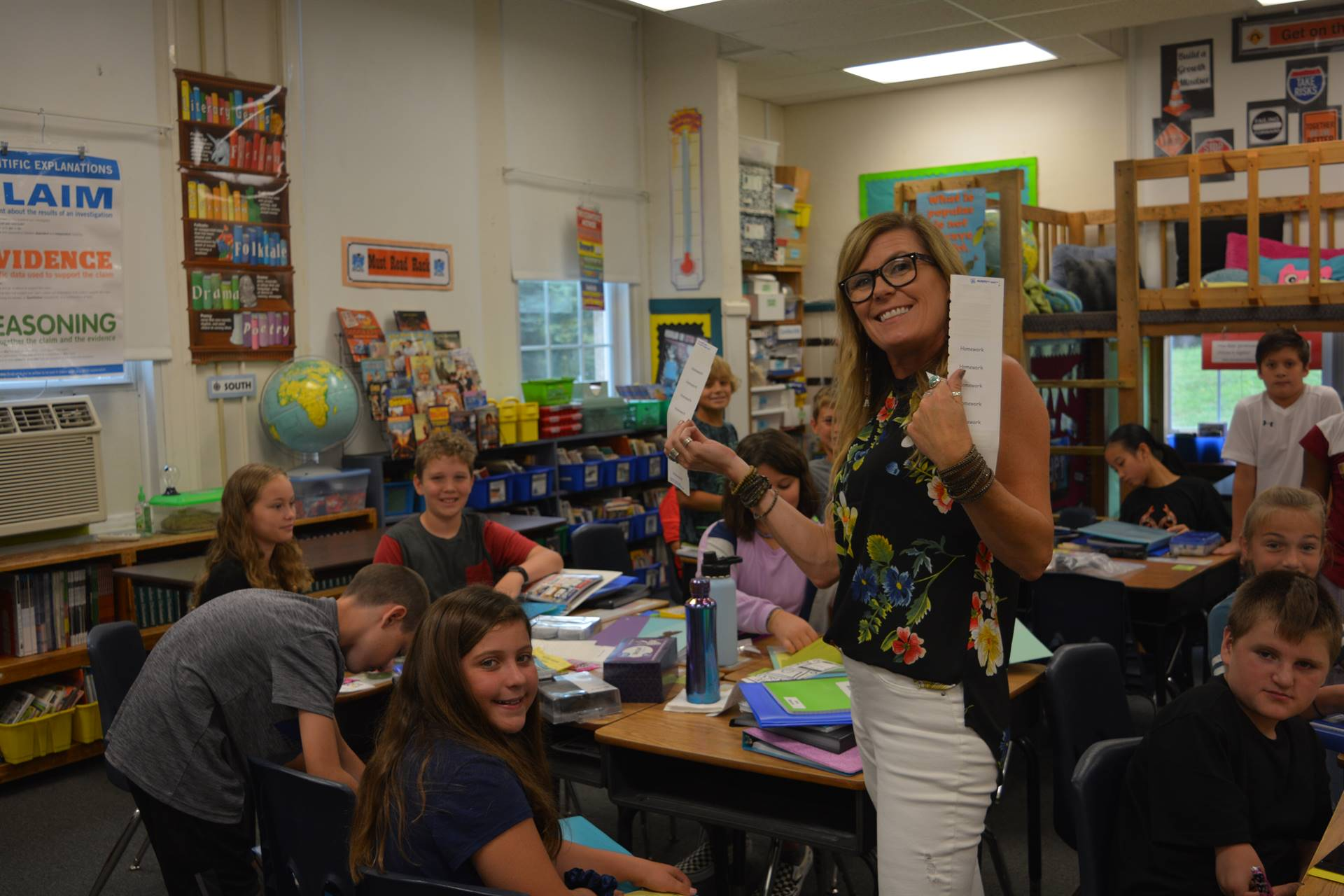Fifth Grade Science Class