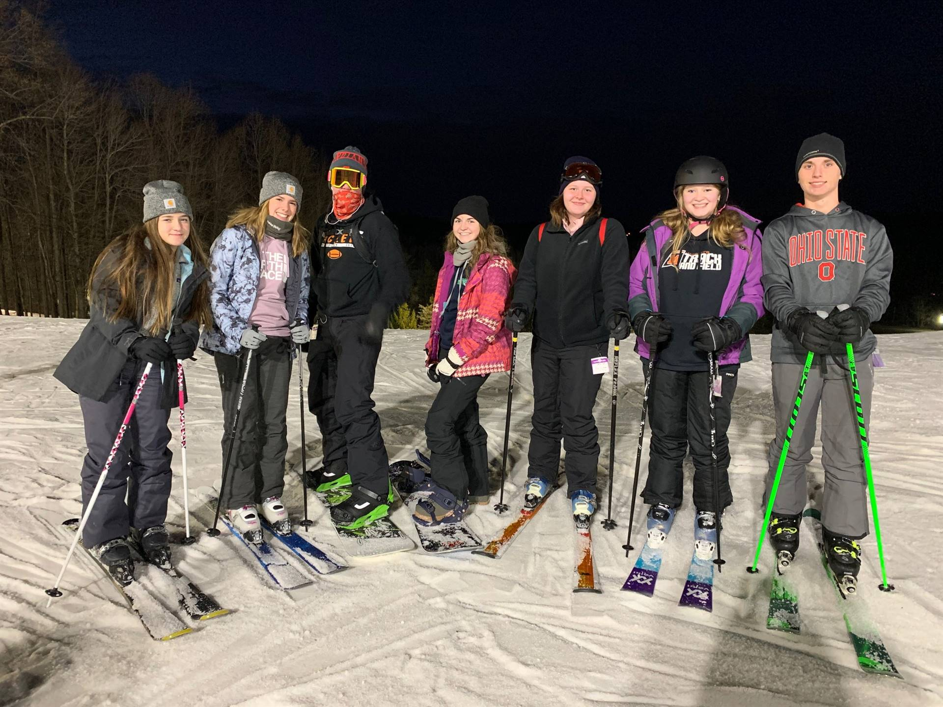 Boots and BIndings Club at Snow Trails