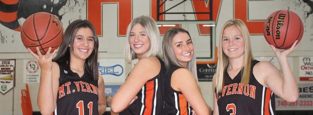 Girls Basketball seniors.