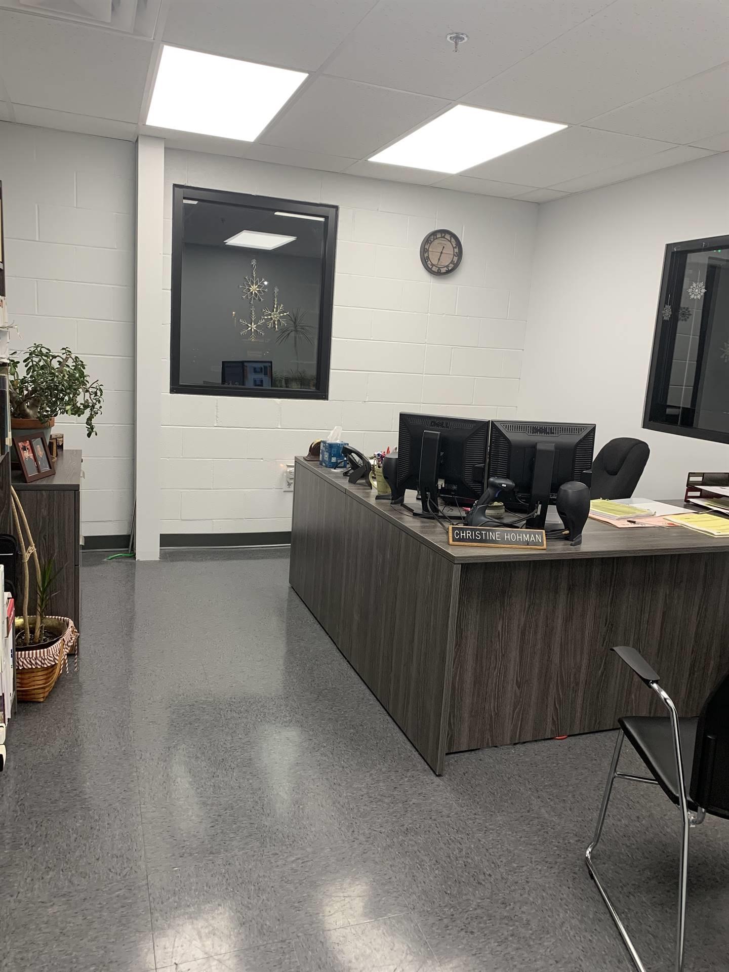 Maintenance secretary office