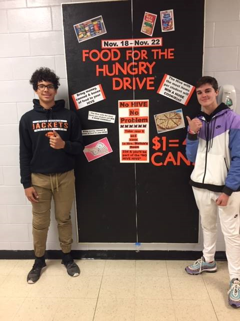 Food for the Hungry High School Drive