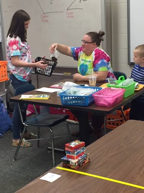 Kindness Day delivering to Mrs. Mather