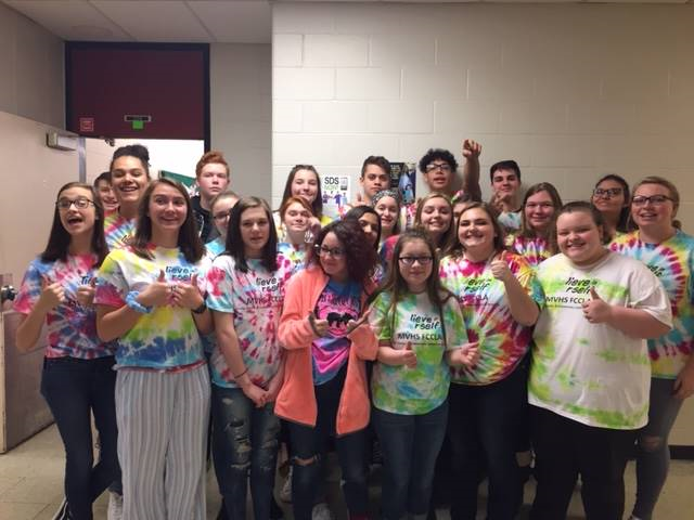 Tie Dye to Recognize Kindness
