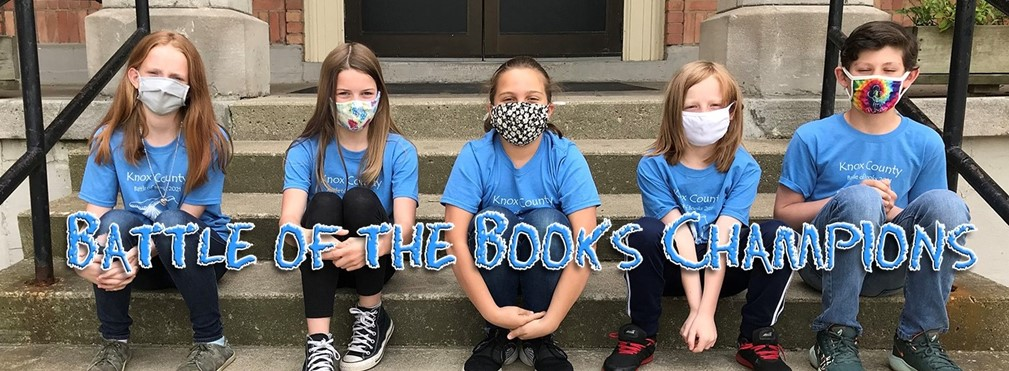 East Elementary Battle of the Books Champions.