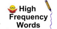 High Frequency Word List