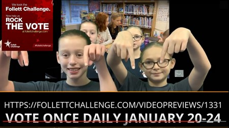 VOTE FOR NEWS CREW IN THE FOLLETT CHALLENGE