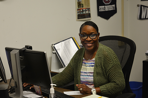 Mrs. Kennerly is one of the guidance counselors for the high school.