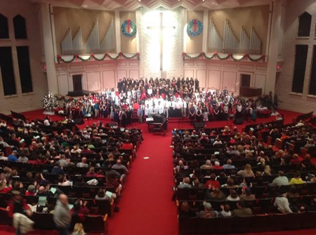 Combined Choirs at MVNU