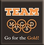 Picture of Team MV Go For The Gold Graphic.