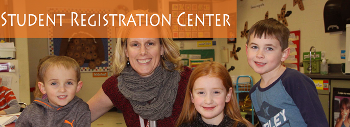 Welcome Center picture for new student registration