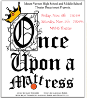 "Logo for ""Once Upon a Mattress"""