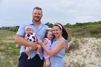 Mr. Roberts Family on Kiahwa Island Beach Photo