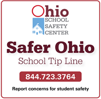 Safer Schools Ohio Tip Line 1-844-723-3764